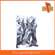 Aluminum foil silver small vacuum bag wholesale for food packaging