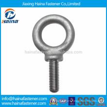 High quality 4.8 grade carbon steel galvanised eye lag screw