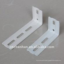 89 мм и 100 мм металлический карниз настенного кронштейна для вертикальных жалюзи- вертикальные жалюзи