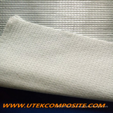 Tejido unidireccional de poliéster con respaldo de fibra de vidrio para pultrusión