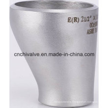 Ss Steel Plate Butt-Welding Pipe Fitting Eccentric Reducer