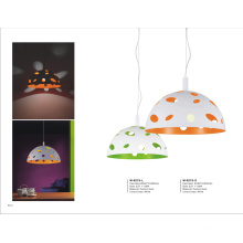 Modern White and Orange Dinging Room Pendant Lamp (M-081S-S/OR)