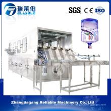 Máquina de rellenar del barril de agua pura automática 18.9L