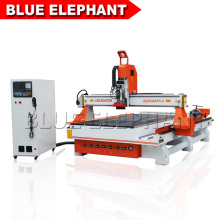 ATC 4axis 3D rotary cnc router ele1325 1530, 4 axis wood carving cnc machine for making door