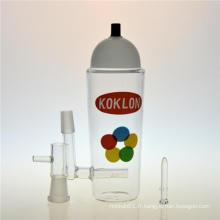 Krylon Bouteille DAB Rigs Hookah Smoking Glass Water Pipe (ES-GB-403)