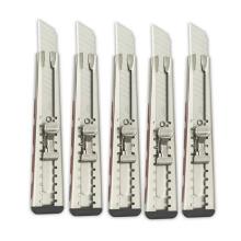Cuchillo utilitario retráctil Cortador de cajas de servicio pesado clásico