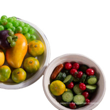 biodegradable disposable sugarcane bagasse paper pulp mould soup salad bowl with lid sugarcane bagasse bowl