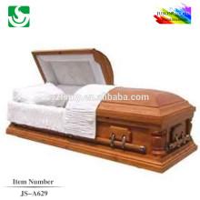Fournisseur de cercueil en bois paulownia JS-A629 luxe