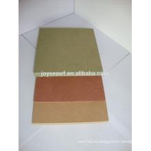 Alta calidad 1200 * 2440mm impermeable verde MDF / humedad resistente MDF