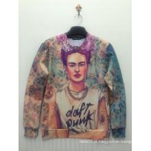 Camisa floral do skate do esporte do punk