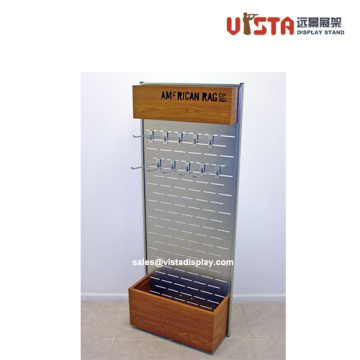 Adornos Pegboard Display Rack con ganchos