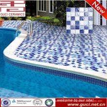 Китай завод смешанные бассейн настенной и напольной керамической плитки мозаики