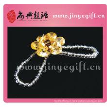 Shangdian trabalhada artesanal strass grânulos por atacado anel de cristal