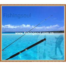 Punta sólida integrada, cañas de pescar en el estuario