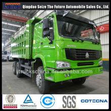 Caminhão dos coletores da descarga de 371HP Sinotruk HOWO 6X4 / 8X4