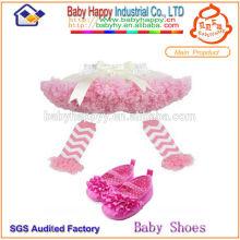 Guangzhou Fabrik billig Preis plain Farben Baby Ballettröckchen Kleid