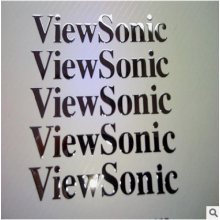 View Sonic Logos Nickel Thick Nameplate