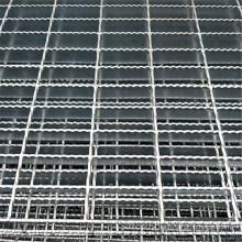 serrated  steel grating walkway platform