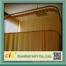 280cm llano Hospital Cutain tela hecha en China