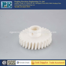 Custom precision cnc machining nylon 66 worm gear ISO 9001 passed