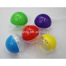 High Quality Plastic Empty Toy Capsule