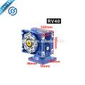 12V / 24V 120W positiver und negativer Verzögerungsdrehzahl-Schneckengetriebemotor