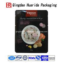 Bolsos de empaquetado de la laminación plástica colorida de la comida caliente