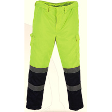 EN20471 rain trousers waterproof reflective safety trousers