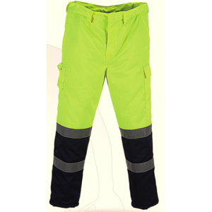 High visibility safety men trousers