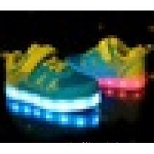 Unisex Children USB Charging light Flashing Sneakers LED Shoes