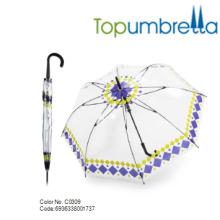 2018 Spezielle heiße Verkauf PVC Blase Dome Clear Kinder Regenschirm 2018 Spezielle heiße Verkauf PVC Blase Dome Clear Kinder Regenschirm