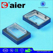 Cubierta a prueba de agua del interruptor de eje de balancín cuadrado