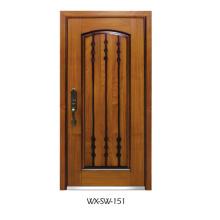 Porte de bois en acier compétitive (WX-SW-151)
