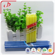 Small decoration holiday use 12g color candle