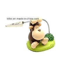 Juguete plástico del mono del plástico del vinilo inflable del regalo de la Navidad de Eco-Friendly de la figura