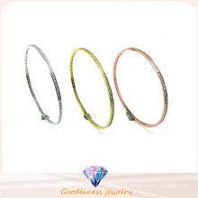 2016 New Product Wholesale Fashion Jewelry 925 Silver Bangle (G41282)