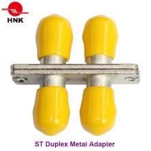 Adaptador Padrão de Fibra Óptica Padrão St Duplex