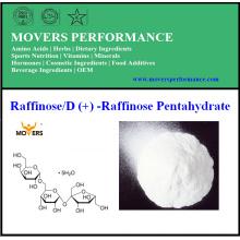 Vente chaude meilleure qualité de fabrication directement approvisionnement Raffinose / D (+) -Raffinose Pentahydrate