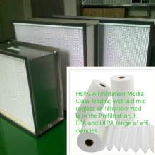 Бумага воздушного фильтра для фильтра ULPA очистителя воздуха