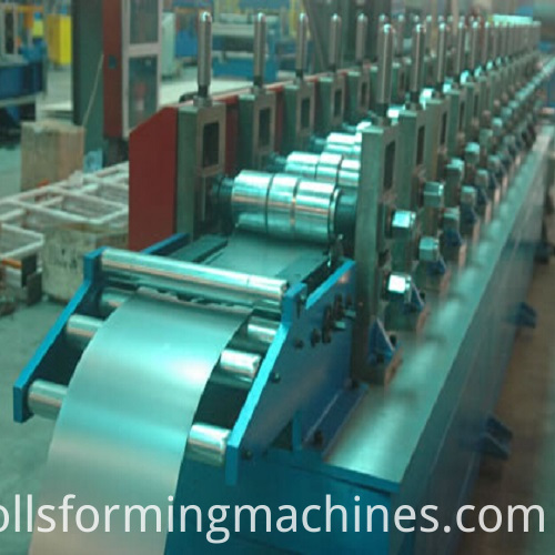 Matel Door Frame Steel Door Channel Roll Forming Machine