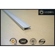 Aluminium Track Rail with Velcro Gl3003 for Window Roman Blind Decoration