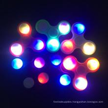 Led Light Spinner Aluminium Bearing EDC Toy Hand Spinner