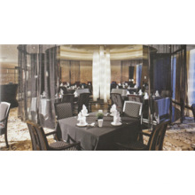 Zebra Grid Stripes hochwertige Hotelstuhl Möbel (FOHCF-4716)