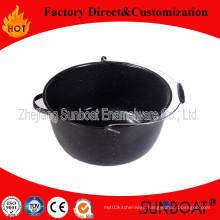 16qt Enamel Stock Pot with Handle/Pail Stock Pot Houseware