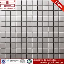 Venta caliente producto cocina pared acero inoxidable mosaico de azulejos