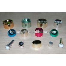Tapa plástica cosméticos de la crema plástica para el tubo suave