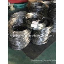 Nimonic 90 Ni55CoTiAl (GH90) fil de ressort