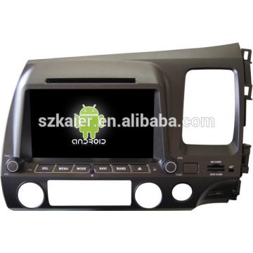 На заводе Android автомобильный цифровой ТВ для Хонда Цивик 2006-2011(справа) с GPS/Bluetooth/телевизор/3G/беспроводной