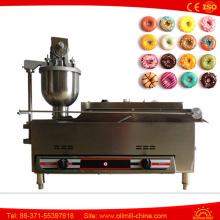 High Configuration 3 Moldes Máquina automática de fabricação de filhós a gás