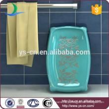 YSb40137-01-sd Fábrica diretamente sabonete de hotel de cerâmica
